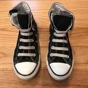 Converse black Chuck Taylor High Top Sneaker, Sz 1